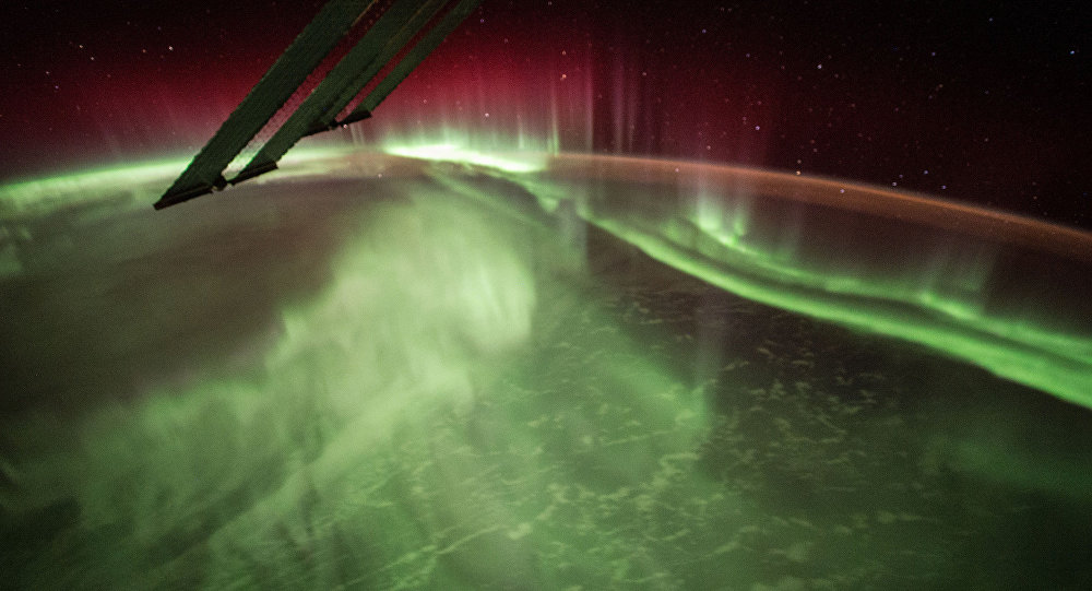 This Night Earth Observation of an Aurora Borealis was captured by NASA astronaut Scott Kelly of Expedition 44 on the International Space Station