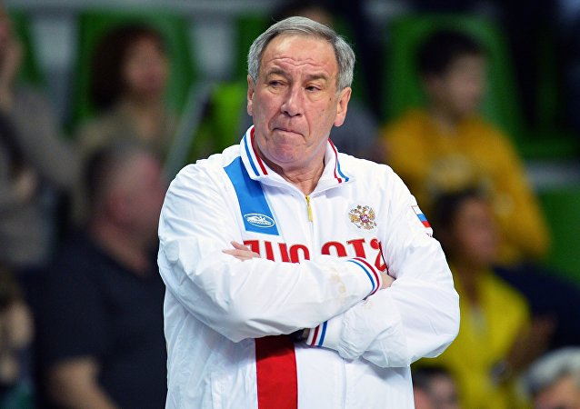 Captain of the Russian national tennis team Shamil Tarpishchev