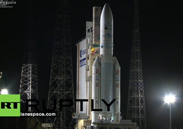 French Guiana: Ariane 5 rocket launches Eutelsat 65 West A