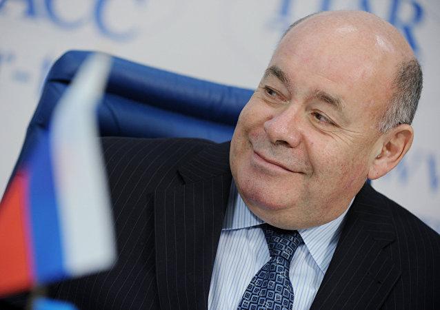 Russia's presidential envoy for international cultural cooperation Mikhail Shvydkoi