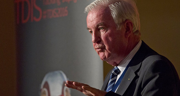 President of the World Anti-Doping Agency (WADA), Craig Reedie speaks at a Tackling Doping in Sport 2016 conference in London on March 9, 2016
