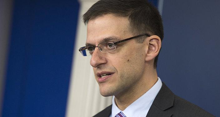 Treasury Undersecretary for Terrorism and Financial Intelligence Adam Szubin (File)
