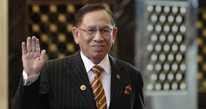 Malaysian Senate President Abu Zahar Ujang. File photo