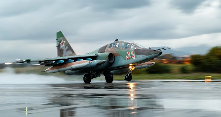 Russian Su-25 fighter shot down in Syria