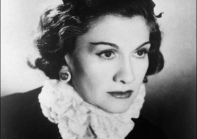 Portrait of the famous french high fashion designer Coco Chanel taken in 1944 in Paris.