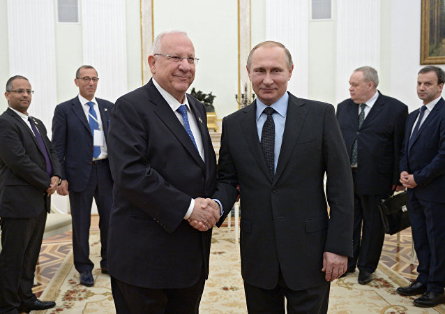Russian President Vladimir Putin's meeting with President of Israel Reuven Rivlin