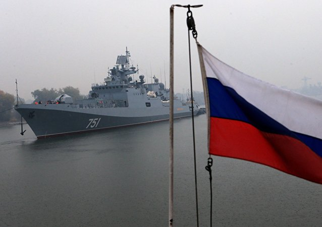 Admiral Essen frigate conducts mechanical run tests
