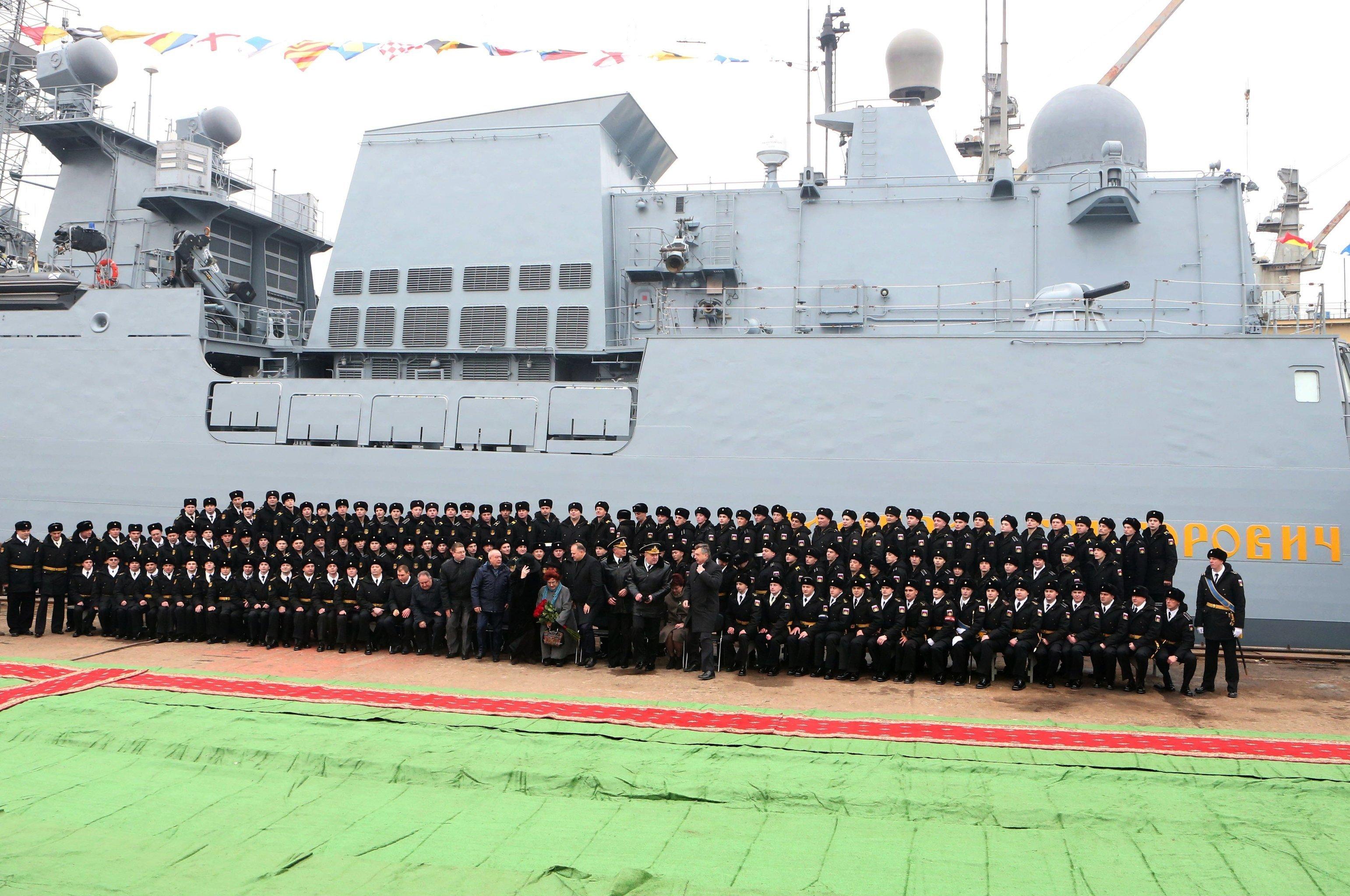 Admiral Grigorovich-class frigate