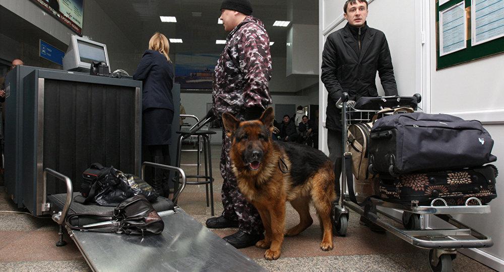 Police tighten security at Kazan airport in Tatarstan