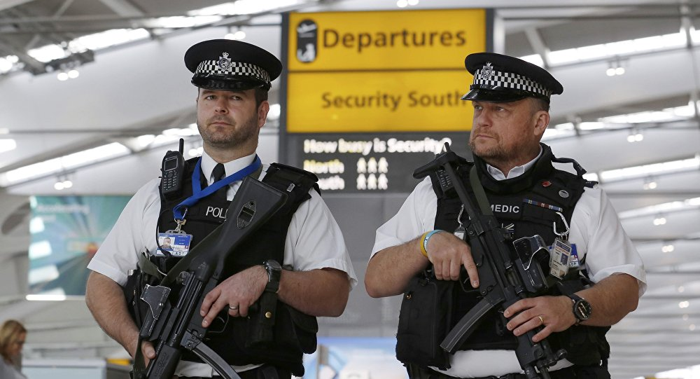 Woman arrested at Heathrow Airport by terror police