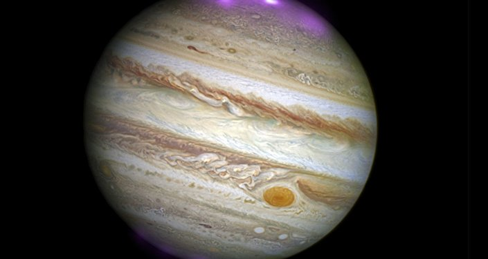 Solar Storms Ignite X-ray Northern Lights on Jupiter
