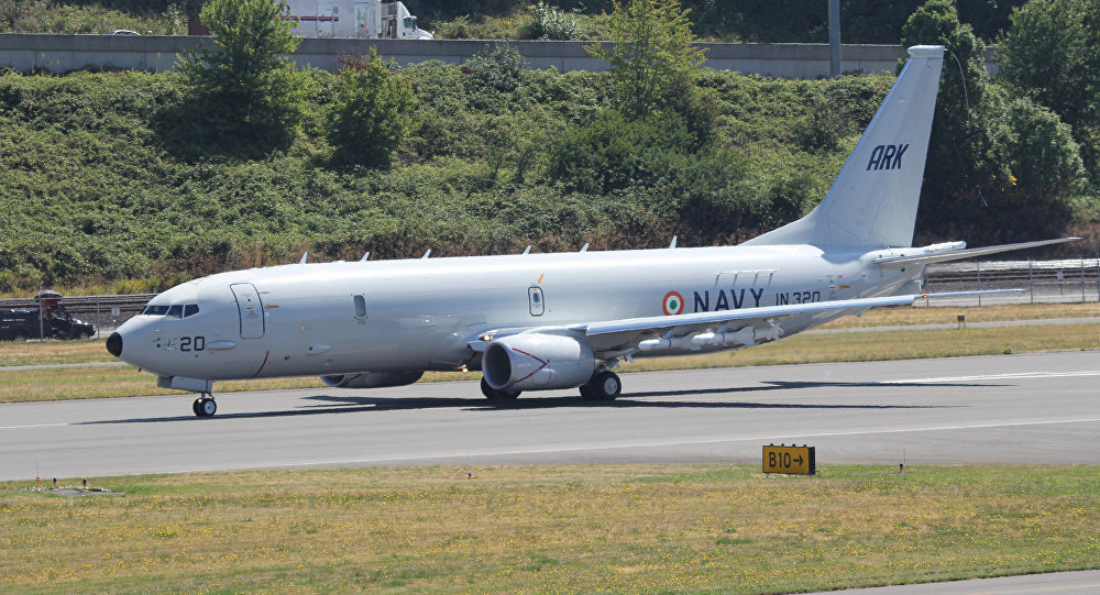 Indian Navy Boeing P-8I Neptune