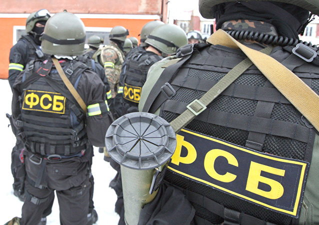 A file photo showing anti-terrorism exercises of FSB special forces and Russian MVD (Ministry of Internal Affairs)