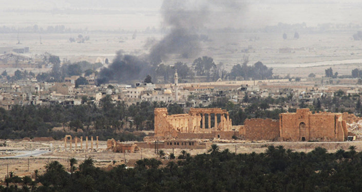 Syrian army and militias fight for Palmyra