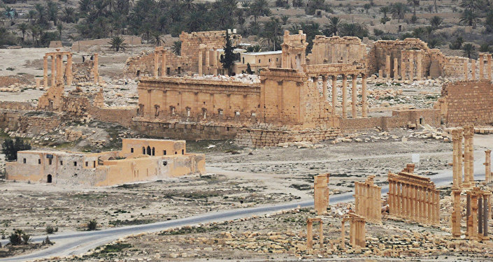 Ancient Palmyra liberated from terrorists