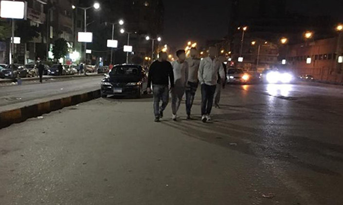Night Men Male Prostitutes Roam The Streets In Egypt