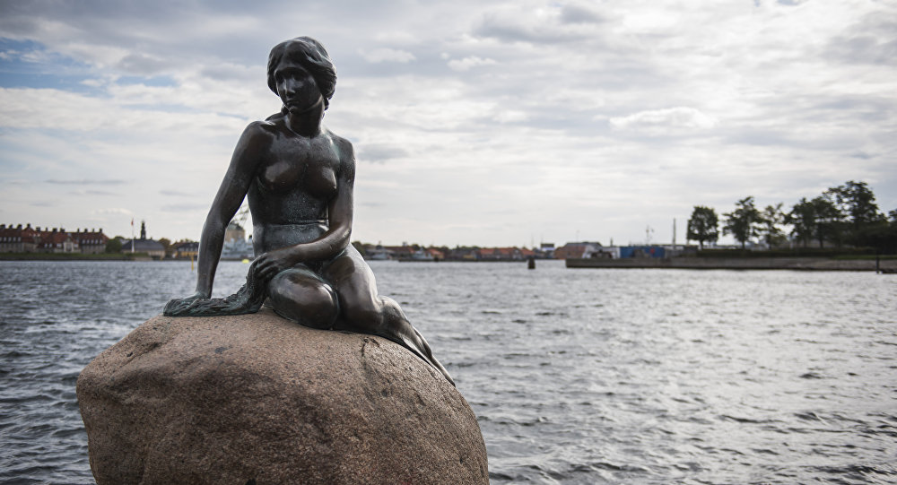 Denmark's Little Mermaid vandalized with 'Free Hong Kong' graffiti