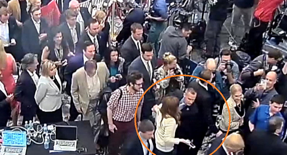 Jupiter police release video showing Corey Lewandowski grab Michelle Fields