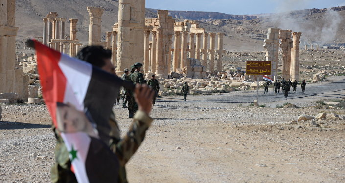 Ancient Palmyra after the city's liberation from terrorists