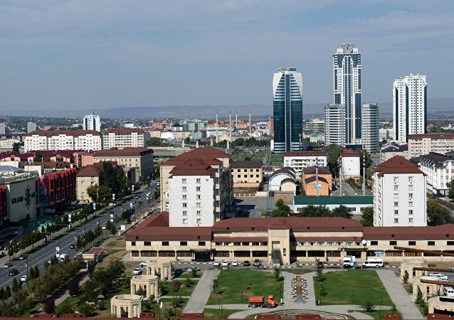 The city of Grozny in Chechnya
