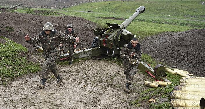 Nagorno-Karabakh conflict zone