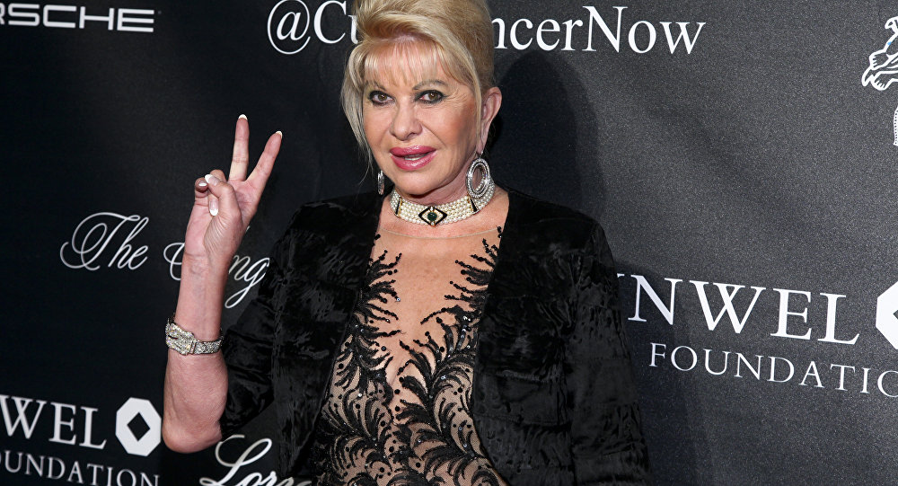 Ivana Trump Doesn't Think President Trump Should Run Again in 2020