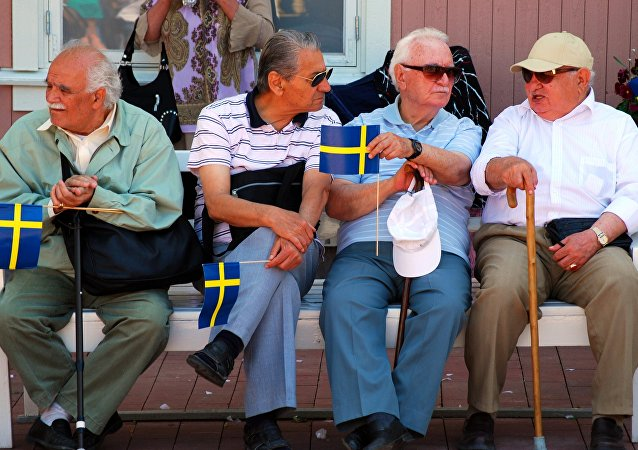 Old Swedish men