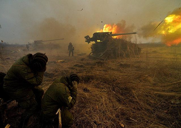 Комплексная тренировка 5-й общевойсковой армии ДВО в Приморском крае