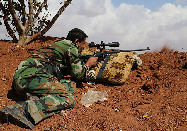 A Free Syrian Army fighter. file photo