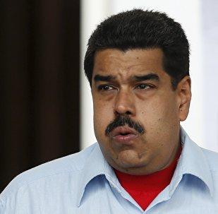 Venezuela's President Nicolas Maduro (File)