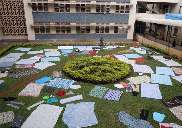 Mulago Hospital in Kampala, Uganda