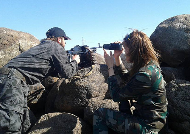 Military women journalists