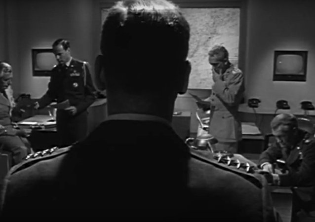 Still from John Frankenheimer's Seven Days in May.