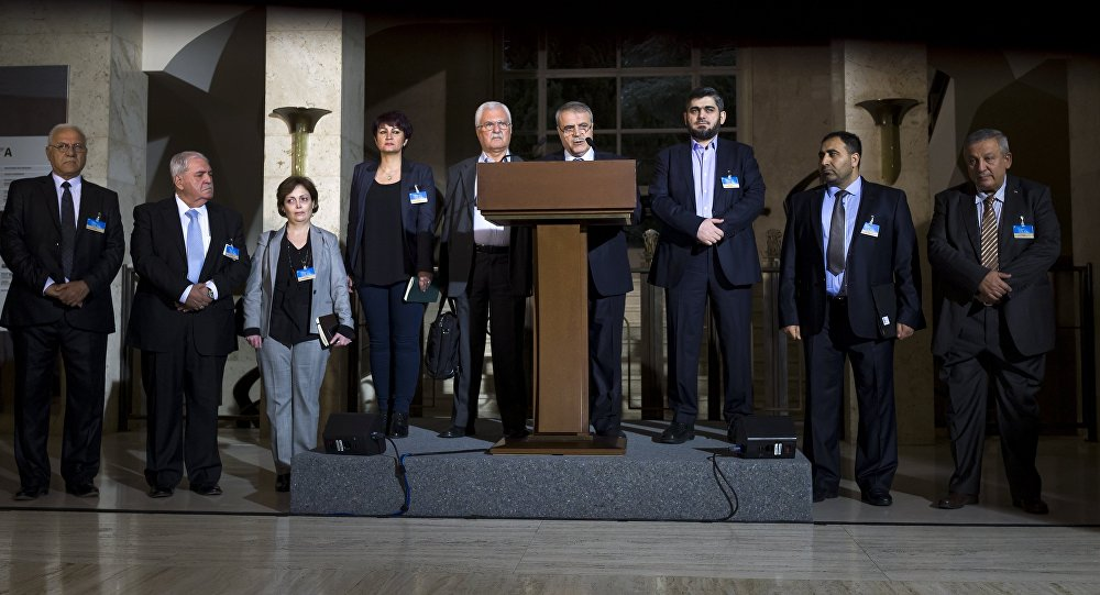 Syria conflict: Opposition unveils transition plan