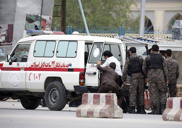 Afghan ambulance