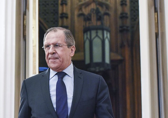 Meeting of Russian Foreign Minister Sergei Lavrov