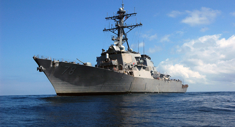 US Destroyer Buzzed By Russian Jets