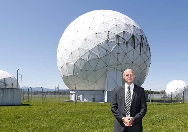President of the German Federal Intelligence Agency (BND) Gerhard Schindler stands at the former monitoring base of the National Security Agency (NSA) in Bad Aibling, south of Munich, June 6, 2014.