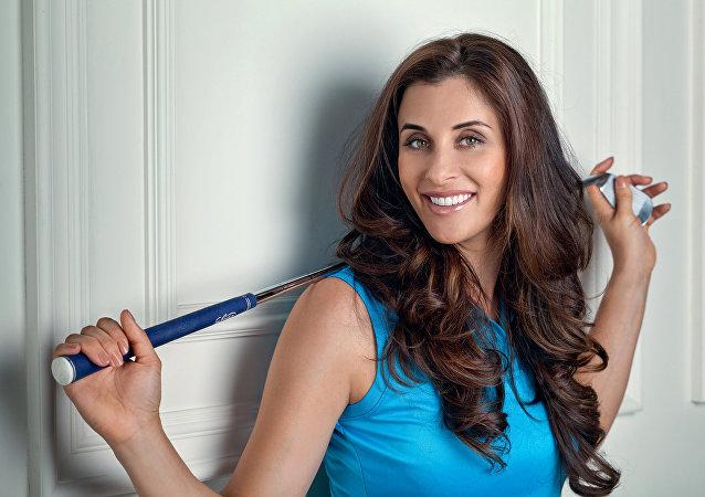 Golfer Maria Verchenova