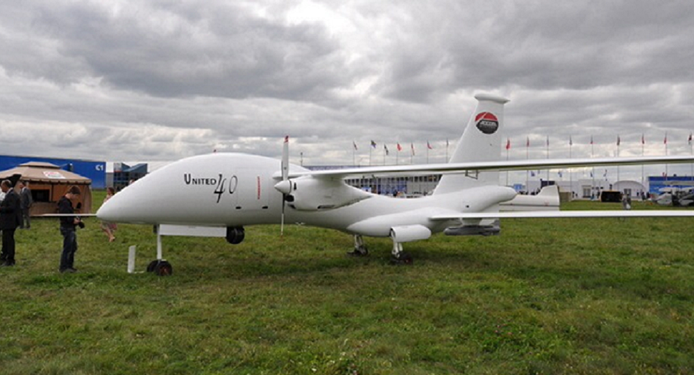 Russia Begins Flight Tests Of UAE Made United 40 Military Drone