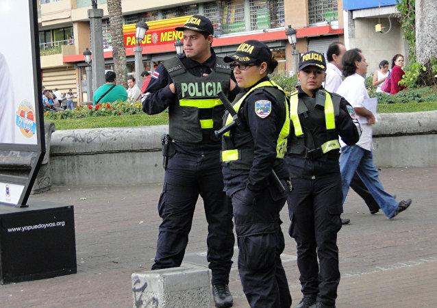 Police man - Police Women - Honduras
