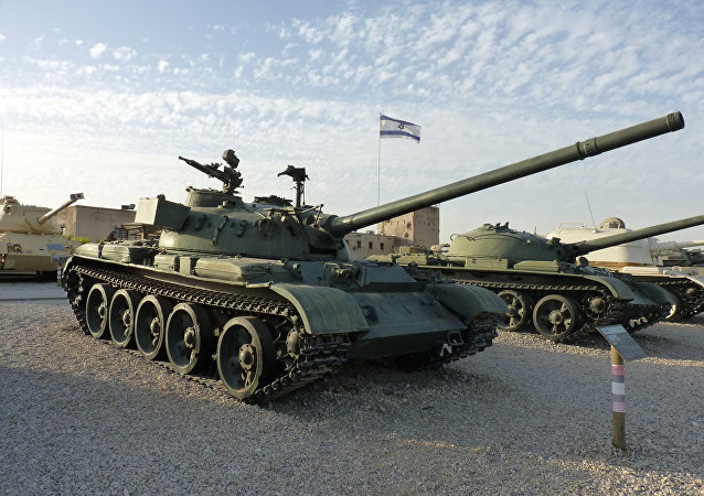 T-54 tank in the Armored Corps Memorial Site and Museum at Latrun