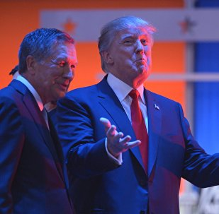 John Kasich and Donald Trump