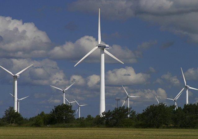 Wind generators at Nasudden, Gotland