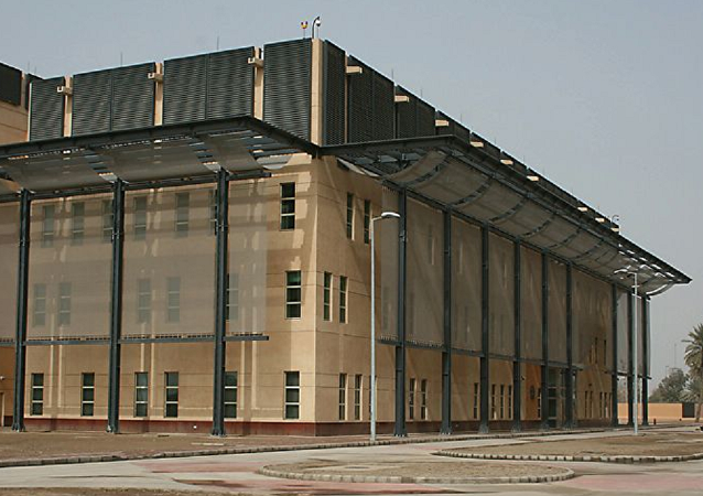 US embassy in Baghdad