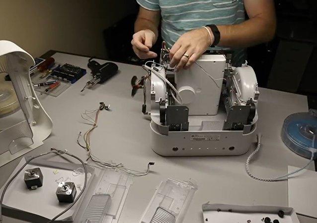 Get a look inside a 3D printer
