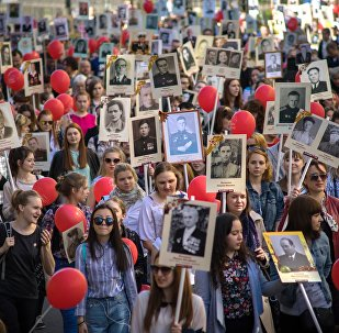 Immortal Regiment patriotic action