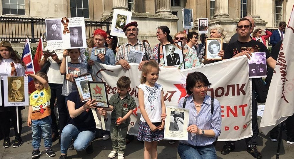 Immortal Regiment March in London