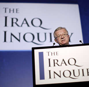 John Chilcot, the Chairman of the Iraq Inquiry, outlines the terms of reference for the inquiry and explains the panel's approach to its work during a news conference in London, on July 30, 2009