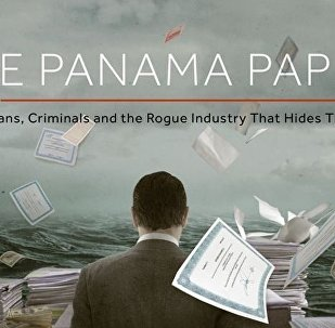 The ICIJ Panama Papers Page Screenshot